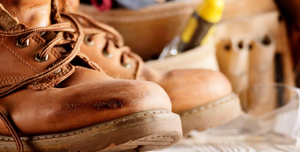 Cómo debe ser el calzado ideal para trabajar